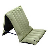 Надувной матрас LightWeight ChairBed(KM3577) Green