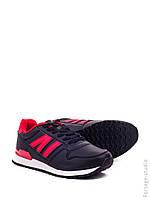 Кроссовки женские черно-красные