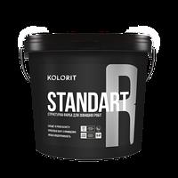 Структурная фасадная краска Kolorit Standart R