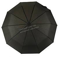 Мужской прочный зонт автомат классический черный цвет SUSINO art. 458 черный (100159), фото 1