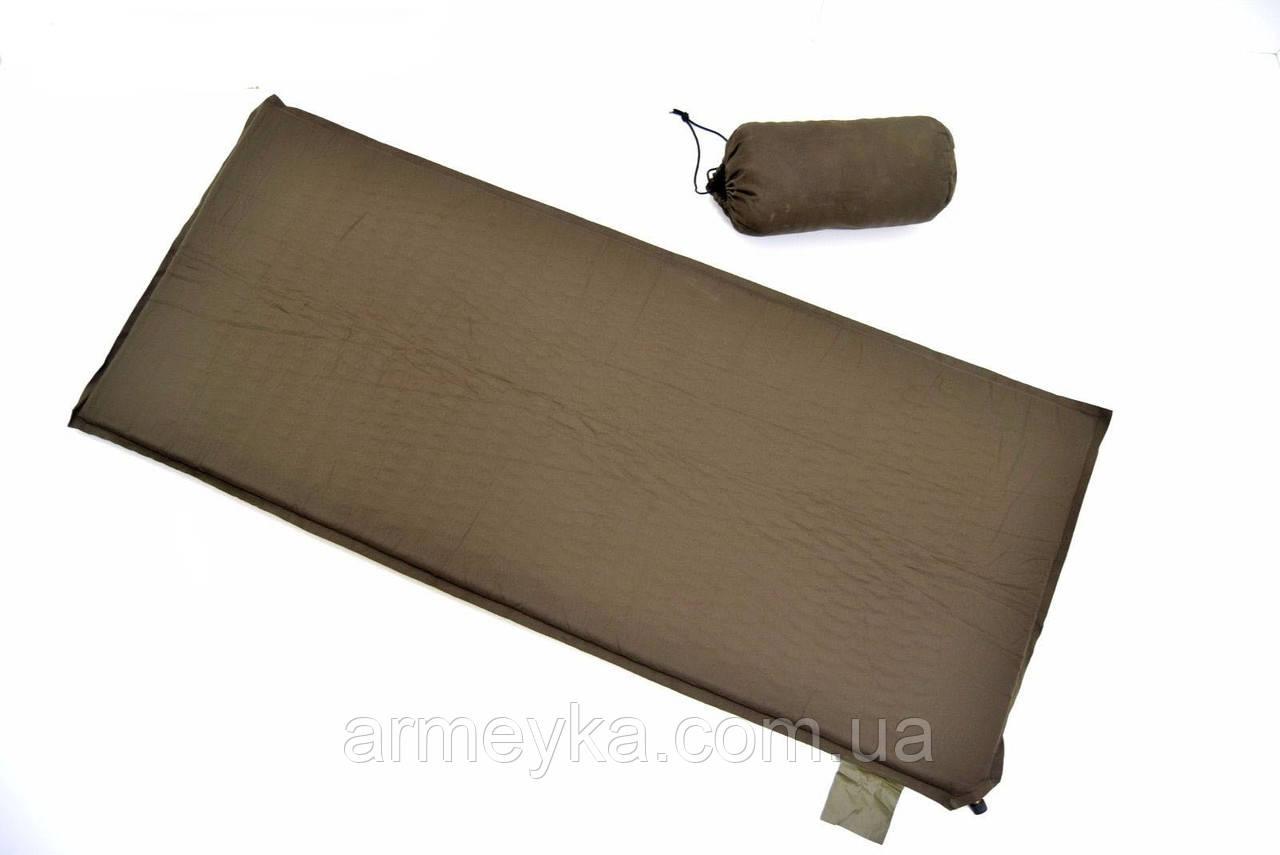 Армейский самонадувной каремат mat sleeping thermal inflatable. Великобритания, оригинал.
