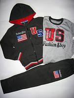 Утепленный костюм USA р.122-134