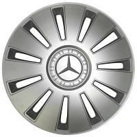 Колпаки колесные REX MERCEDES R15 серые