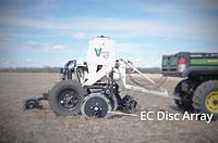 Прицепной сканер почвы Veris U3000 для измерения электропроводности, органического вещества и pH