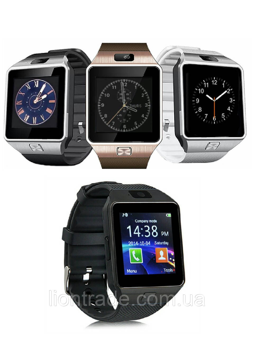 Умные часы smart watch and phone цена