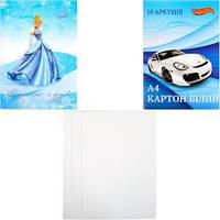 Набор белого картона А410 листов