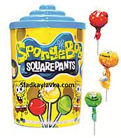 Леденец на палочке Sponge Bob 100 шт (Saturn)