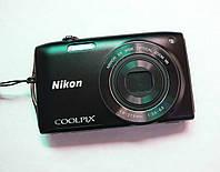 Фотоаппарат Nikon Coolpix S3300 Black