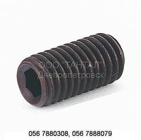 Винт установочный с плоским концом под шестигранный ключ ГОСТ 11074-93, ГОСТ Р 50388-92, DIN 913, ISO 4026
