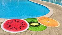 Пляжный коврик «Фрукты». размер ф1,5м