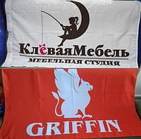 Флаги с логотипом