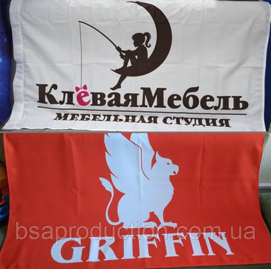 Флаги с логотипом - «BSA production» в Киеве