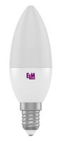 Светодиодная лампа ELM 7W C37 PA10L E14 4000K