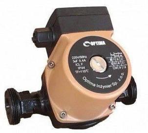 Насос циркуляционный Optima OP25-60 180мм + гайки, + кабель с вилкой!, фото 2
