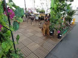 Садовый паркет из термодерева (термоясень)
