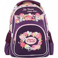 Школьный портфель для девочки Flower Dream Kite.