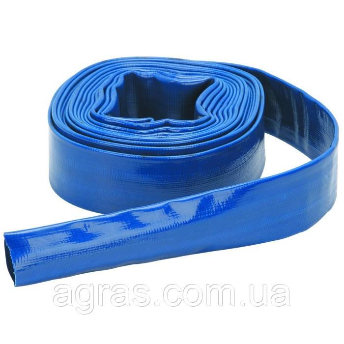 Лейфлет Monoflat  3'', 5атм. Синий, в бухте 100м.  Heliflex (Португалия)