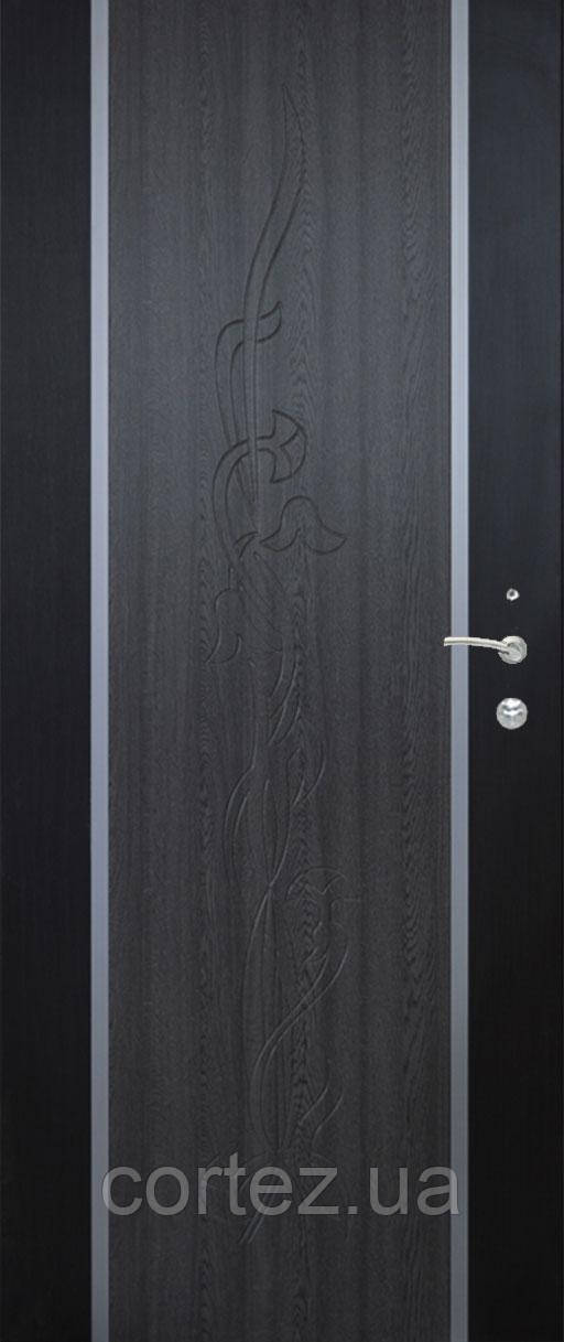 Входная дверь Люкс модель 122