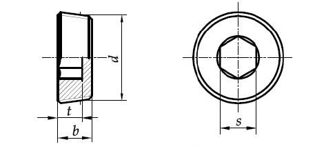 Заглушка для труб DIN 906