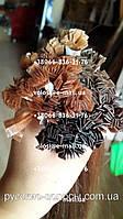 Южно-Русские волосы для наращивания на капсулах рыжие.