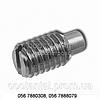 Винт установочный с цилиндрическим концом с прямым шлицем ГОСТ 1478-93, ГОСТ Р 50385-92, DIN 417, ISO 7435