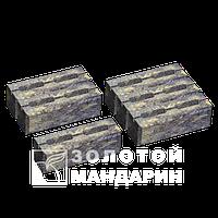 Заборный декоративныйблок 300х200х100 «Золотой мандарин» (двухсторонний скол) генуя
