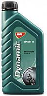 Моторное масло для 2Т двигателей MOL Dynamic Sprint 2T полусинтетика для мото техники