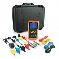 Extech PQ3470-2 200A комплект анализатора качества электроэнергии: Extech PQ3470 c Extech PQ34-2