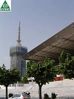 Защитная фасадная сетка для лесов строительных Karatzis 50г/м2
