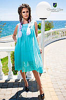 Летнее платье трапеция КВ 88465