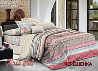 Семейный набор хлопкового постельного белья из Ранфорса №18103157 KRISPOL™