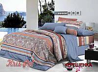 Семейный набор хлопкового постельного белья из Ранфорса №18110157 KRISPOL™
