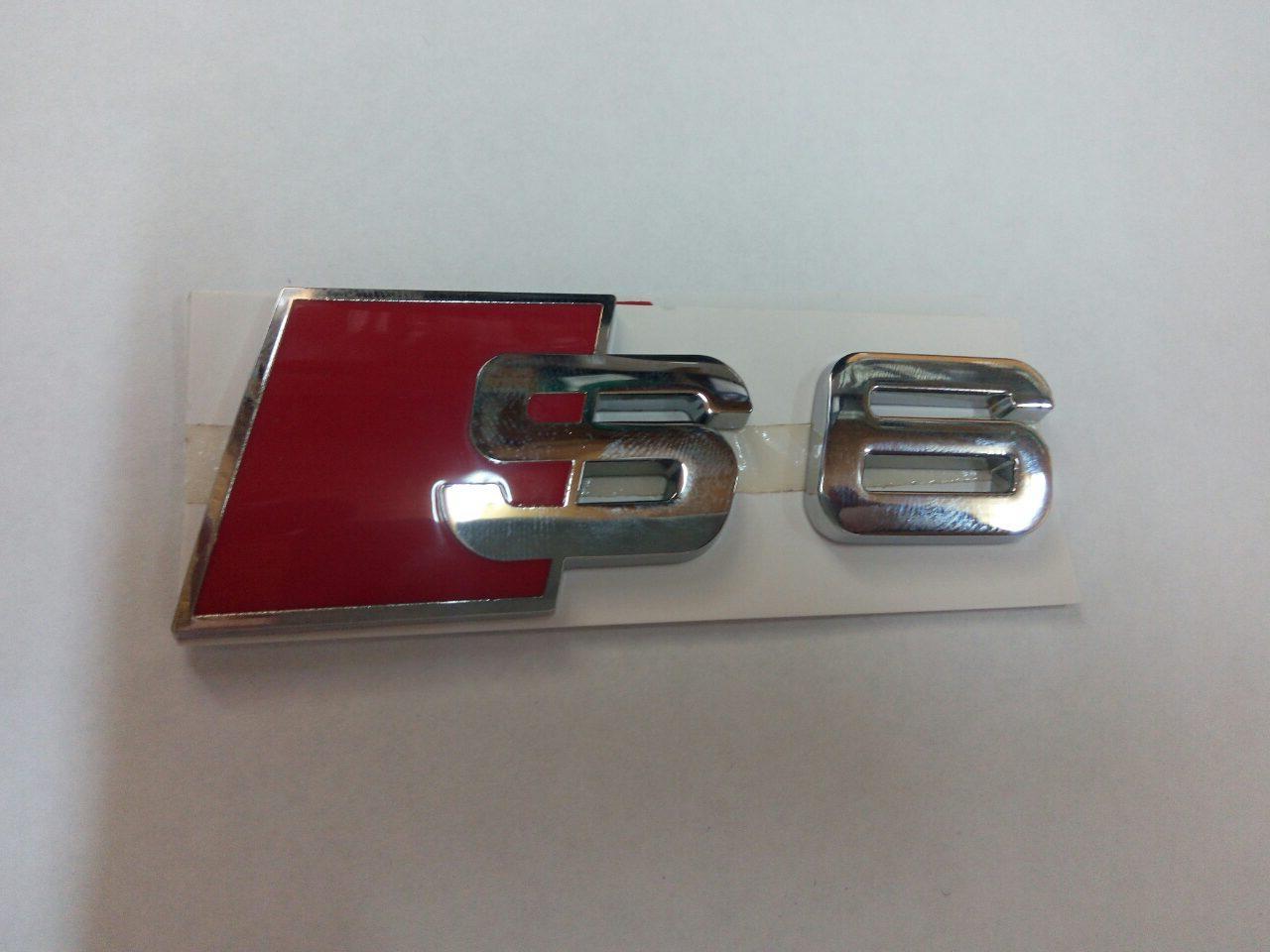 Эмблема S6 на Audi