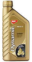 Моторное масло для 2Т двигателей MOL Dynamic Moto 2T синтетика для мото техники