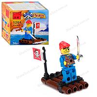 """Детский конструктор Brick """"Пират на плоте"""""""