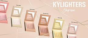 Хайлайтер Kylie Pressed Illuminating Powder рум'яна-хайлайтер від Kylie репліка, фото 2