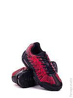 Черно-красные женские кроссовки