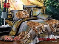 Семейный набор хлопкового постельного белья из Ранфорса №18569 KRISPOL™