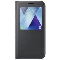 Чехол Samsung A720 - S View Standing Cover Black (EF-CA720PBEGRU)