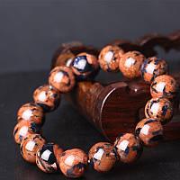 Браслет из натурального камня Авантюрин леопардовый