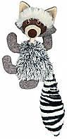 Игрушка Trixie Racoon для собак плюшевая, енот, 21 см