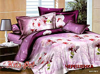 Семейный набор хлопкового постельного белья из Ранфорса №18811 KRISPOL™