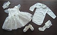 """Набор крестильный """"Маленькая Принцесса"""" для девочки"""