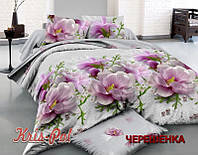 Семейный набор хлопкового постельного белья из Ранфорса №18921 KRISPOL™