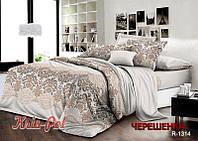 Семейный набор хлопкового постельного белья из Ранфорса №181314 KRISPOL™