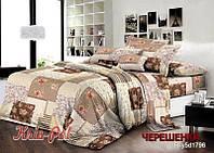 Семейный набор хлопкового постельного белья из Ранфорса №181796 KRISPOL™