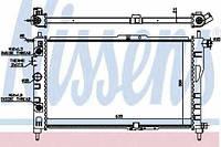 Радиатор охлаждения Daewoo Nexia Nissens