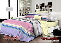 Семейный набор хлопкового постельного белья из Ранфорса №181803 KRISPOL™