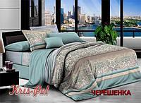 Семейный набор хлопкового постельного белья из Ранфорса №182956 KRISPOL™