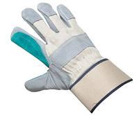 Перчатки комбинированные кожаные MAGPIE